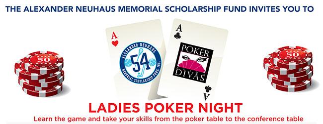 Poker Divas Ladies Night