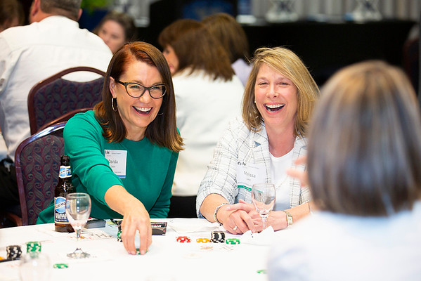 The FEI Cincinnati women learned how to use Poker to rev up negotiation skills