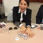 Poker Divas - Excited woman