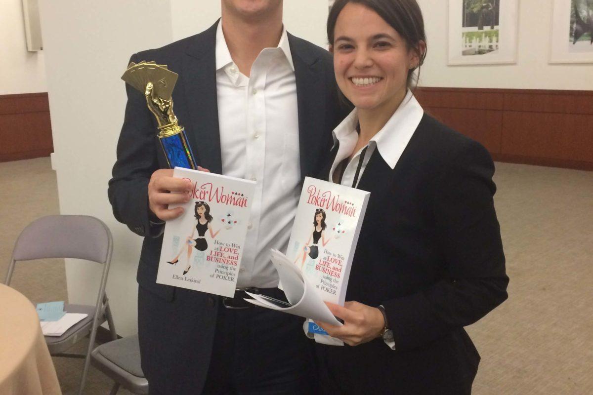 Poker Divas - couple with prizes