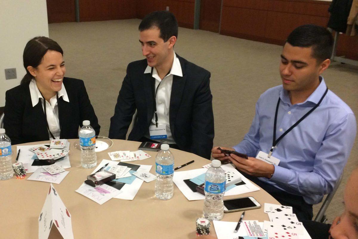 Poker Divas - People having meeting