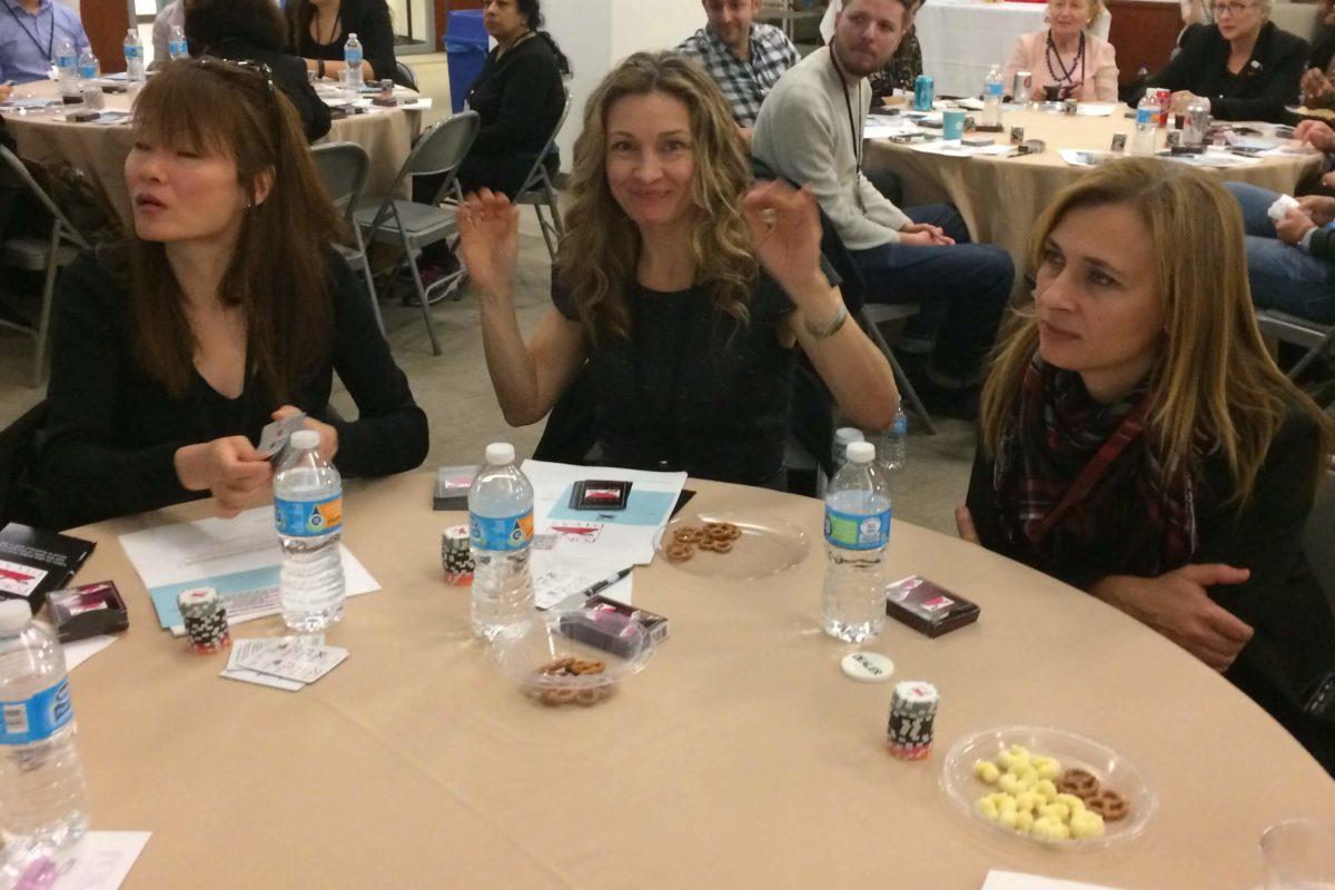 Poker Divas - Woman raising hands