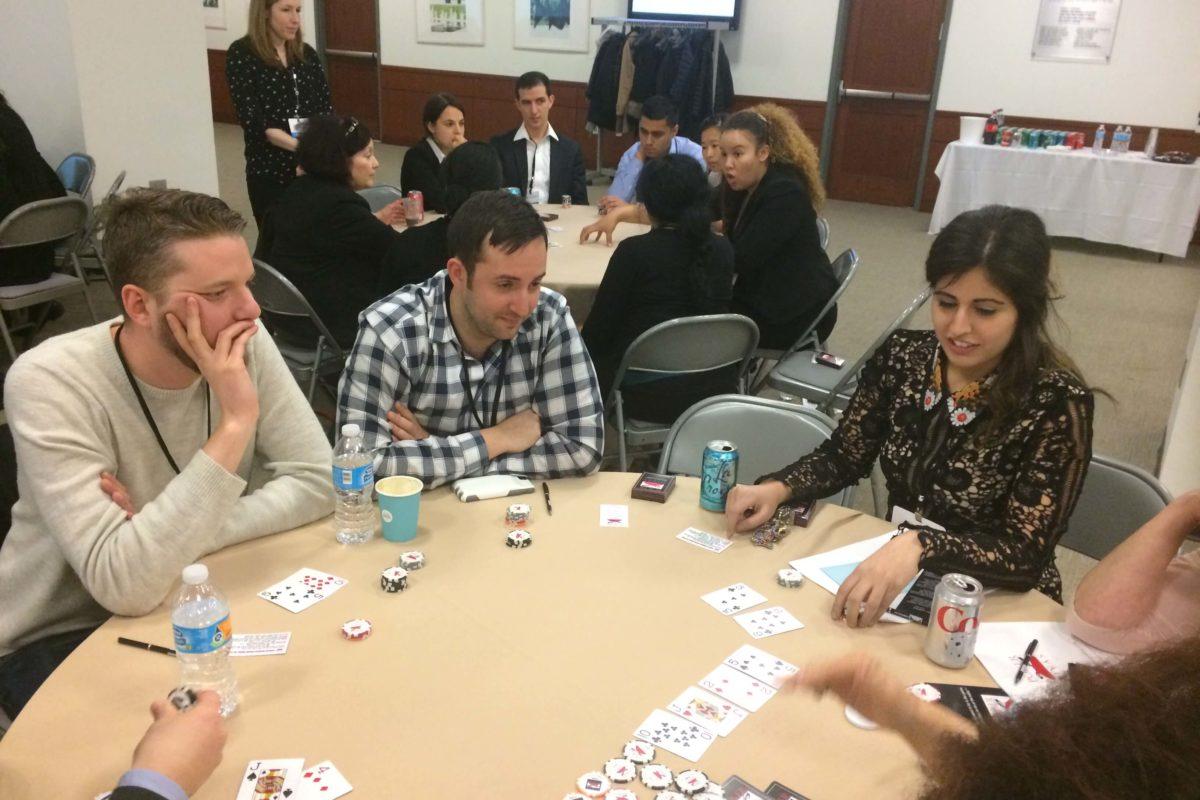 Poker Divas - People thinking
