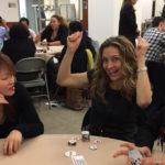 Poker Divas - A cheerful woman