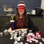 Poker Divas - woman wears red hat