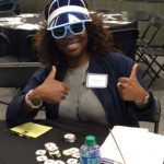 Poker Divas - Woman with thumb up