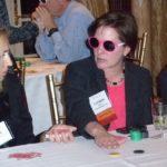 Poker Divas - Women with pink glasses