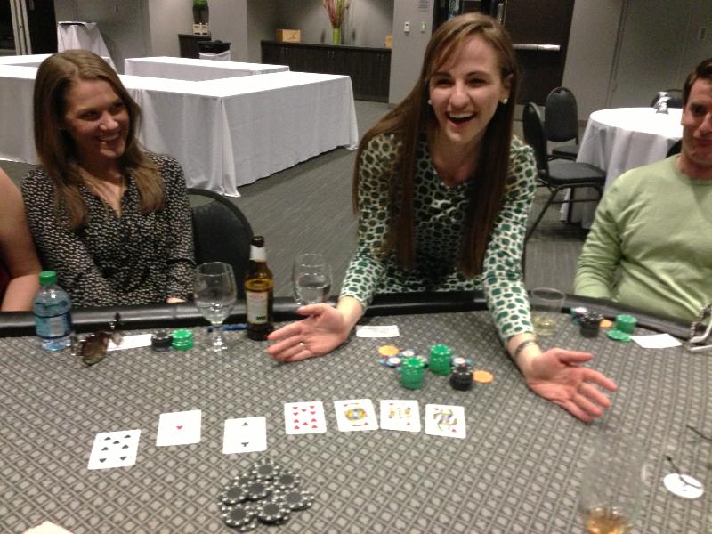 Poker Divas - Women pocker bookWomen chip Leader