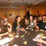 Poker Divas - Cheerful table pocker