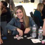 Poker Divas - A woman re-buys