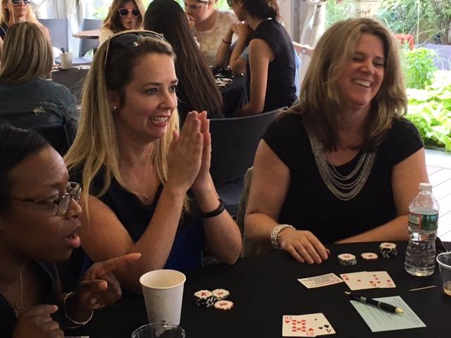 Poker Divas - A woman praying