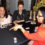 Poker Divas - Woman pointing