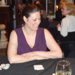 Poker Divas - Woman in purple dress