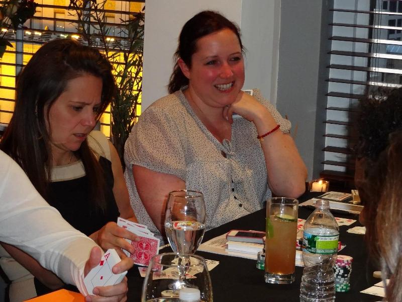 Poker Divas - Women blushing