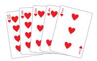 Poker Divas - poker hand flush