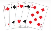 Poker Divas - poker hand fourofakind