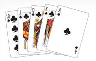 Poker Divas - poker hand royalflush