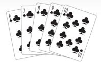 Poker Divas - poker hand straightflush