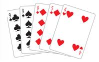 Poker Divas - poker hand threeofakind
