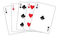Poker Divas - poker hand twopair