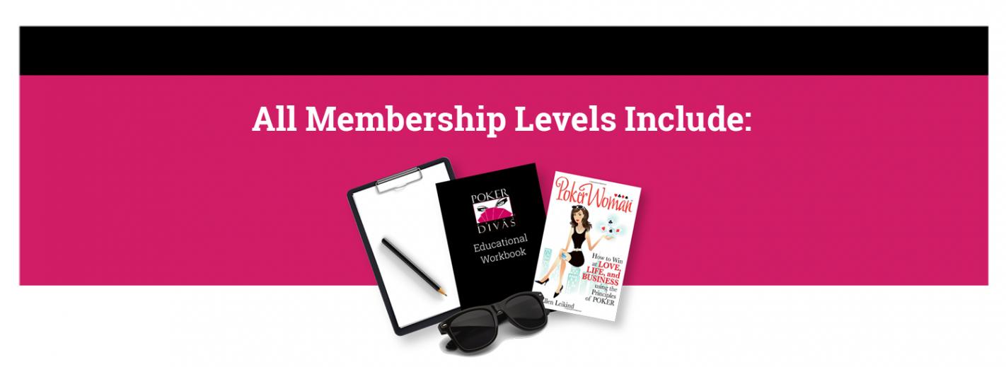 Poker Divas - poker divas membership banner