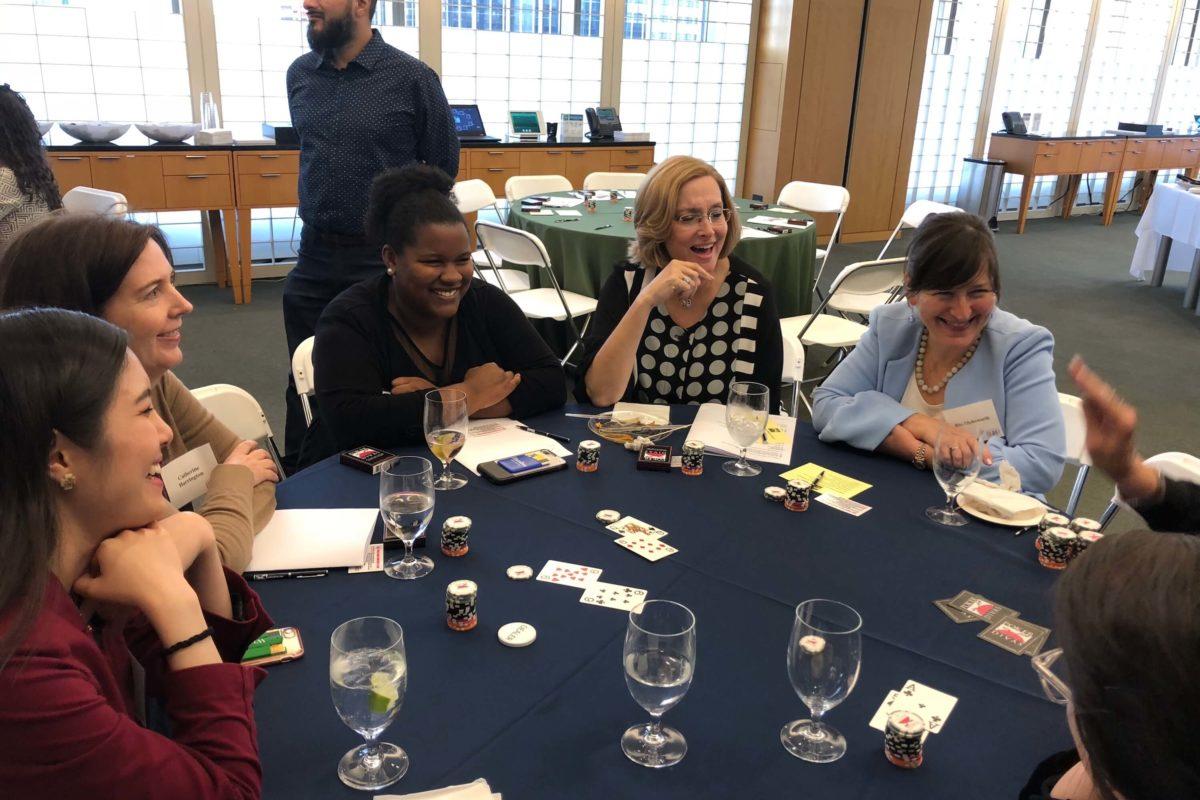 Poker Divas - Women talking