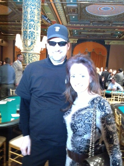 Poker Divas - Picture with celebrity