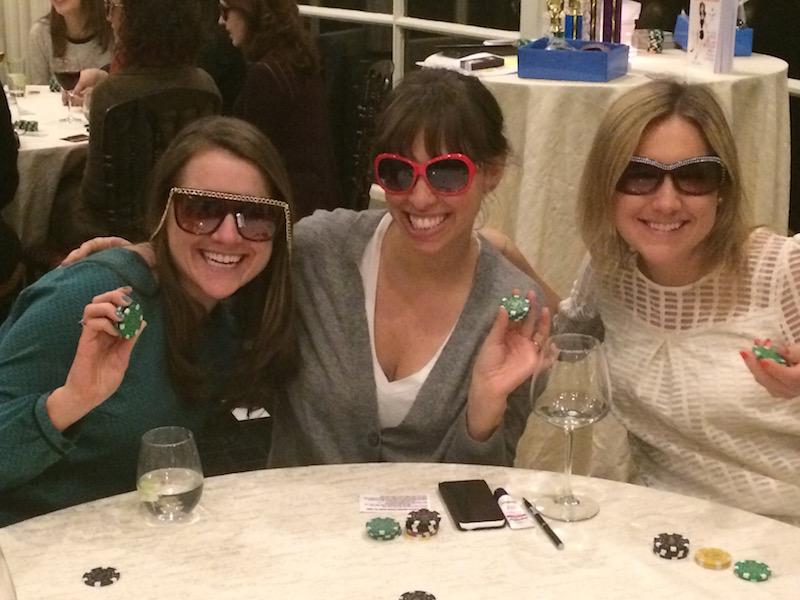 Poker Divas - Three women sitting