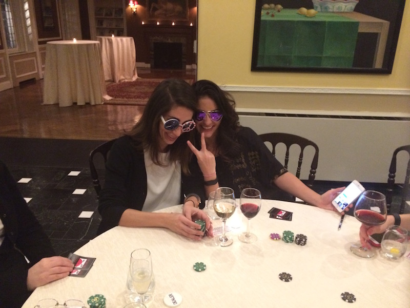 Poker Divas - Two women posing