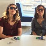 Poker Divas - Women wearing cool glasses