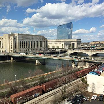 Poker Divas - Buildings and river