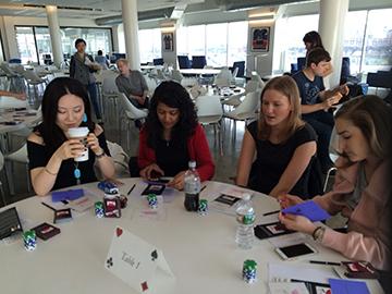 Poker Divas - men are enjoying