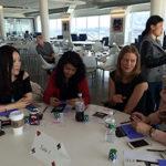 Poker Divas - Women talking happily