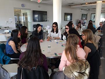 Poker Divas - Women around table