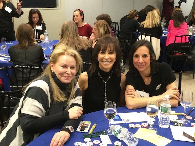 Poker Divas - women and blue table