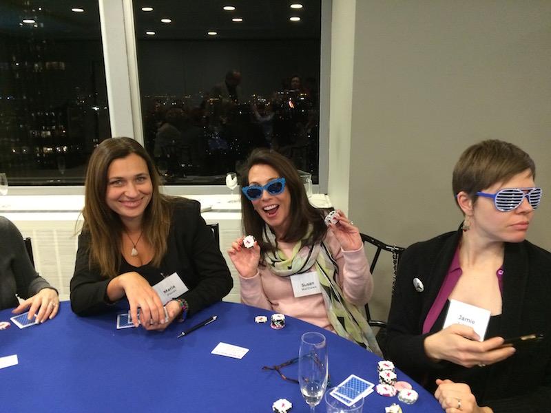 Poker Divas - Women surprised