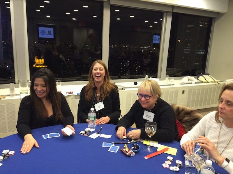 Poker Divas - Laughing women