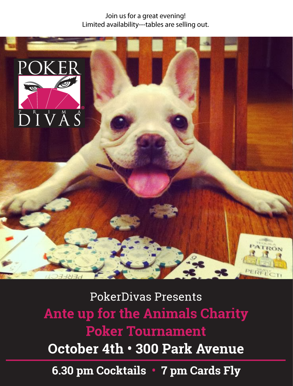 Ante up for the Animals Charity Poker Tournament