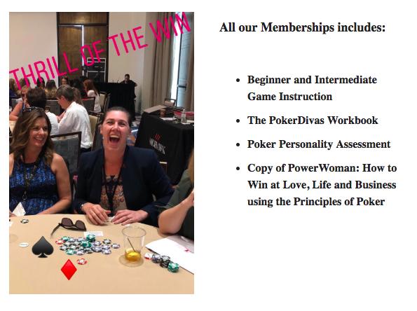 Poker Divas Membership
