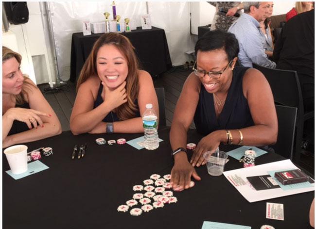 Poker Divas Team Building