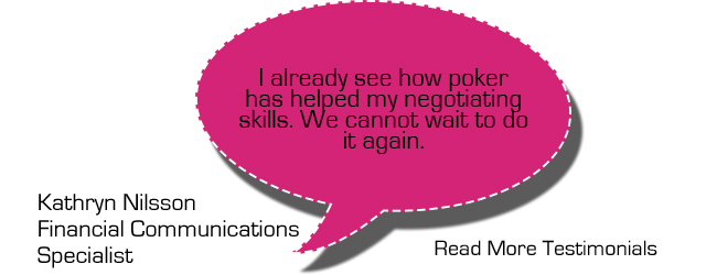 Poker Divas Testimonials