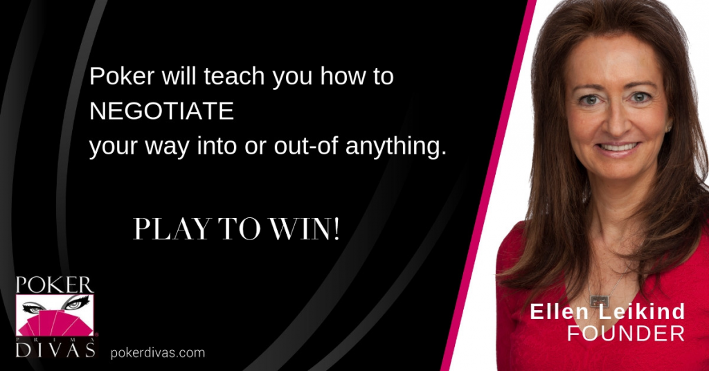 Free Webinar:How to Negotiate & Win Using the Principles of Poker